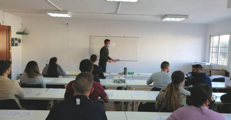 Miguel Ángel, policía, profesor y campeón de España de descenso